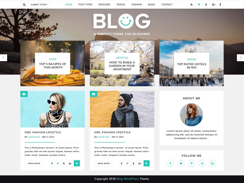 WordPress Theme VW Blog Magazine
